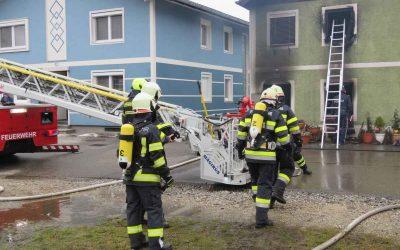 Brand Wohnhaus Dr. Weinlechner Platz