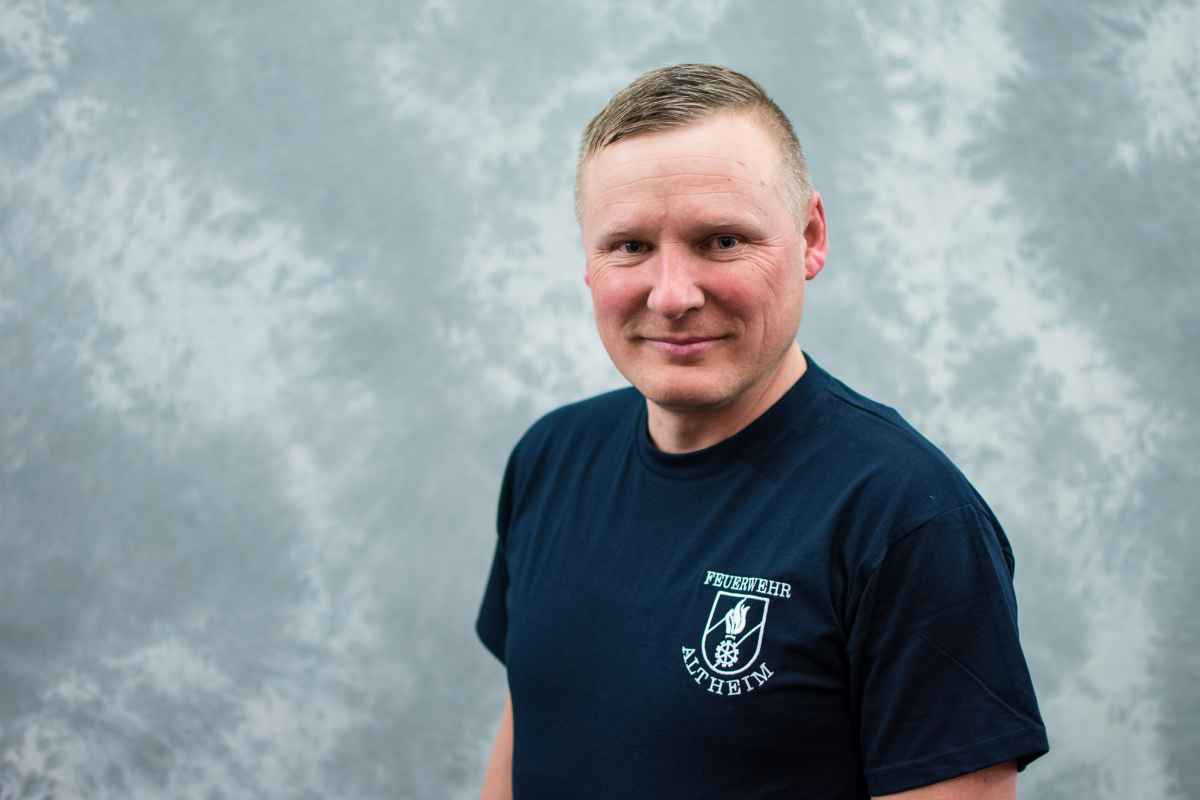 Hauptbrandinspektor Mario Grabner