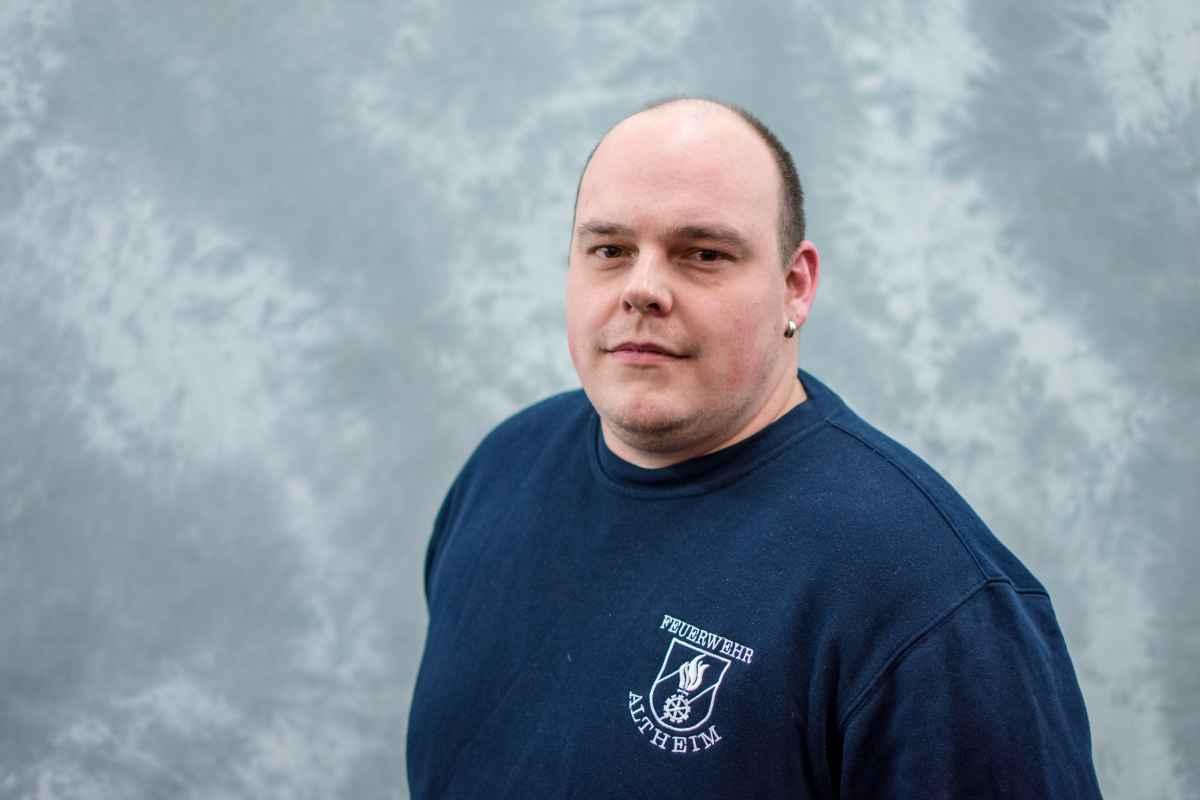 Brandinspektor Patrick Winklbauer