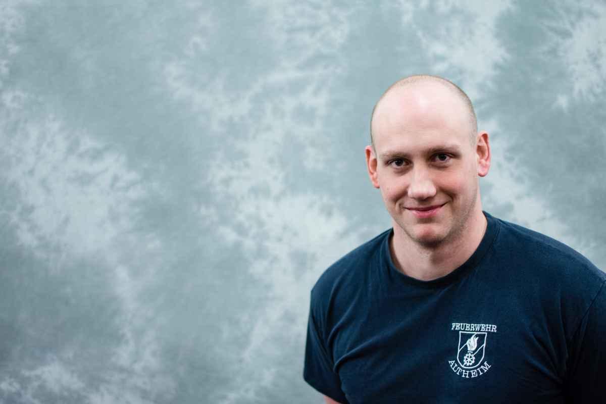 Hauptbrandmeister Philipp Ringl