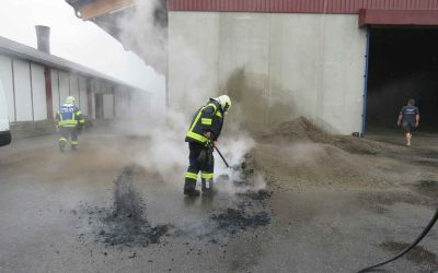 Brand landwirtschaftliches Objekt Mauernberg