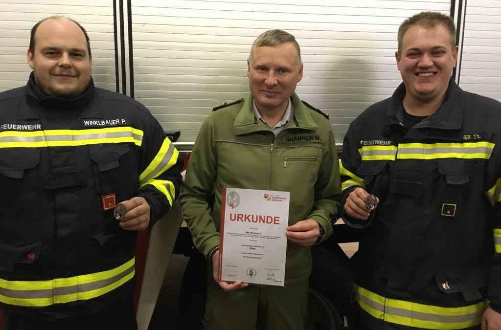 Neue Leistungsprüfung Branddienst